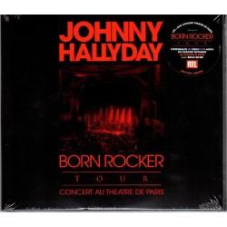 CD + DVD  JOHNNY HALLYDAY   BORN ROCKER TOUR 2013 THEATRE DE PARIS