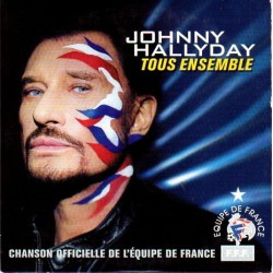 CD  TOUS ENSEMBLE - 2002 - JOHNNY HALLYDAY