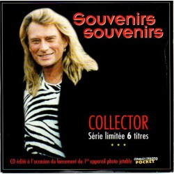 CD  JOHNNY HALLYDAY  SOUVENIRS SOUVENIRS  1996  6 TITRES COLLECTOR