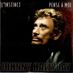 CD  JOHNNY HALLYDAY  L'INSTINCT  2003  2 TITRES