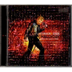 CD x 2  JOHNNY HALLYDAY  FLASHBACK TOUR  2006  16 + 12 TITRES
