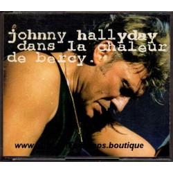 CD x 2  JOHNNY HALLYDAY DANS LA CHALEUR DE BERCY  11 + 11 TITRES