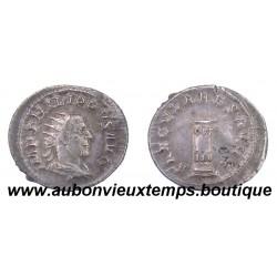 ANTONINIEN BILLON PHILIPPUS 244 - 249 ap J.C. - CIPPE