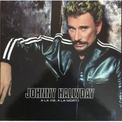 COFFRET 4 x 33T JOHNNY HALLYDAY - A LA VIE. A LA MORT 2002   23 TITRES