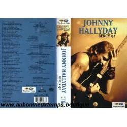 JOHNNY HALLYDAY BERCY 1992 VHS