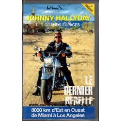 VHS JOHNNY HALLYDAY ROULER VERS L'OUEST - LE DERNIER REBELLE  2ème EPISODE  1990
