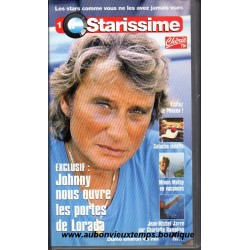 VHS JOHNNY HALLYDAY STARISSIME  N° 1   1995