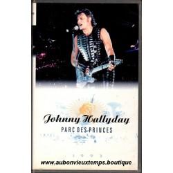 VHS  JOHNNY HALLYDAY - PARC DES PRINCES  33 TITRES   LAURA 1993