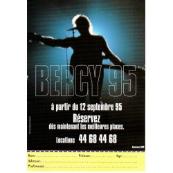 FLYERS PUBLICITAIRE PHILIPS JOHNNY HALLYDAY 1993