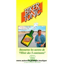 FLYERS BIKER TONIC JOHNNY HALLYDAY