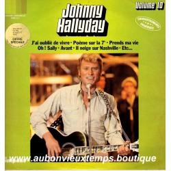 VINYL 33T  JOHNNY HALLYDAY  IMPACT N°10  1980  12 TITRES