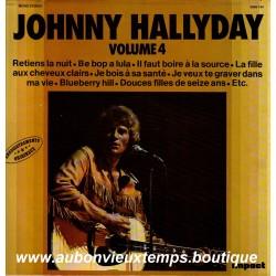 VINYL 33T  JOHNNY HALLYDAY  IMPACT N°4  1980  12 TITRES