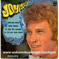 45T ENTRE MES MAINS - PHILIPS 437 439 - JUIN 1968 - JOHNNY HALLYDAY