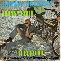 45T JOHNNY RIDER - PHILIPS 6009 545 - SEPTEMBRE 1974 - JOHNNY HALLYDAY