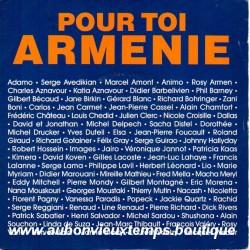 45T POUR TOI ARMENIE - TREMA 410459 - 1989 - JOHNNY HALLYDAY