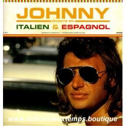 VINYL 33T  JOHNNY HALLYDAY  MERCURY 2015 - JOHNNY CHANTE EN ITALIEN ET EN ESPAGNOL - 11 TITRES