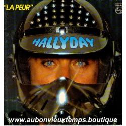 VINYL 33T JOHNNY HALLYDAY PHILIPS 1982 LA PEUR 11 TITRES