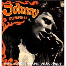 VINYL 33T  JOHNNY HALLYDAY  PHILIPS MARS 1967 - OLYMPIA 67  - 11 TITRES