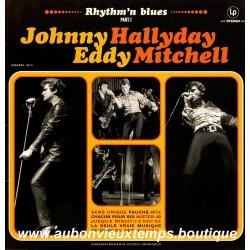VINYL 33T  JOHNNY HALLYDAY  et EDDY MITCHELL  UNIVERSAL 2014 - RHYTHM'N BLUES - 16 TITRES