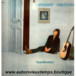 VINYL 33T  JOHNNY HALLYDAY  PHILIPS 1973 INSOLITUDES  11 TITRES