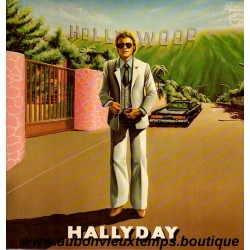 VINYL 33T  JOHNNY HALLYDAY  PHILIPS JANVIER 1979 - HOLLYWOOD -  10 TITRES