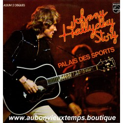 VINYL 2 x 33T  JOHNNY HALLYDAY  PHILIPS  1976 - PALAIS DES SPORTS - 25 TITRES