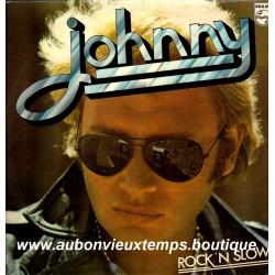VINYL 33T  JOHNNY HALLYDAY  PHILIPS 1974  ROCK'N SLOW  12 TITRES