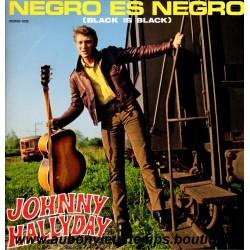 VINYL 33T  JOHNNY HALLYDAY  MERCURY 2016 - NEGRO ES NEGRO -  13 TITRES