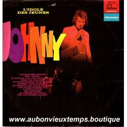 VINYL 33T  JOHNNY HALLYDAY  FONTANA  1972  - L'IDOLE DES JEUNES - 12 TITRES