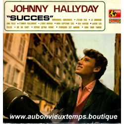 VINYL 33T  JOHNNY HALLYDAY  MONBIO MUSIC 1970 - SUCCES  - 12 TITRES