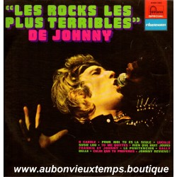 VINYL 33T  JOHNNY HALLYDAY  FONTANA  1971  - LES ROCKS LES PLUS TERRIBLES -  12 TITRES