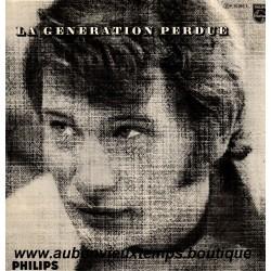 VINYL 33T JOHNNY HALLYDAY PHILIPS OCTOBRE 1966 - LA GENERATION PERDUE - 12 TITRES