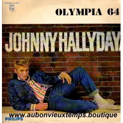 VINYL 33T  JOHNNY HALLYDAY  PHILIPS FEVRIER 1964 - OLYMPIA  64  - 14 TITRES