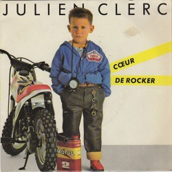 45T COEUR DE ROCKER - JULIEN CLERC