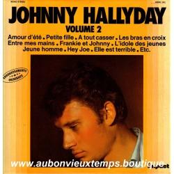 VINYL 33T  JOHNNY HALLYDAY  IMPACT N°2  1981  12 TITRES