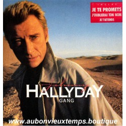 VINYL 33T  JOHNNY HALLYDAY  PHILIPS DECEMBRE 1986  - GANG - 11 TITRES