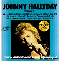 VINYL 33T  JOHNNY HALLYDAY  IMPACT N°5  1980  12 TITRES