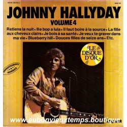 VINYL 33T  JOHNNY HALLYDAY DISQUE D'OR IMPACT N°4  1980  12 TITRES