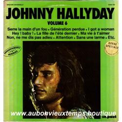 VINYL  33T  JOHNNY HALLYDAY  IMPACT N°6  1979  12 TITRES