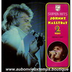 VINYL 2 x 33T  JOHNNY HALLYDAY  PHILIPS - RETIENS LA NUIT  - 24 TITRES
