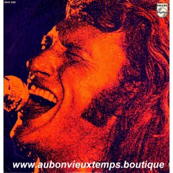 VINYL 2 x 33T  JOHNNY HALLYDAY  PHILIPS OCTOBRE 1971 - LIVE -  15 TITRES