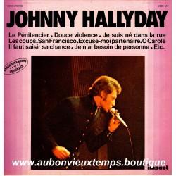 VINYL  33T  JOHNNY HALLYDAY  IMPACT N°1  1979  12 TITRES