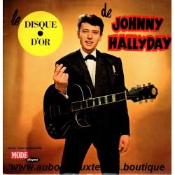 LP 33T  LE DISQUE D'OR - VOGUE 9072  - 1962 - JOHNNY HALLYDAY
