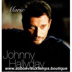 VINYL MAXI 45T  JOHNNY HALLYDAY  MERCURY  2002 - MARIE -  2 TITRES