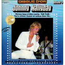 VINYL 33T  JOHNNY HALLYDAY  IMPACT N°7  1980  12 TITRES