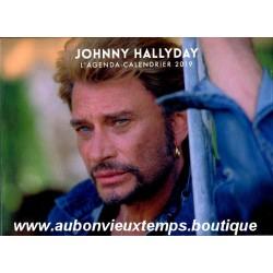 L'AGENDA CALENDRIER 2019 JOHNNY HALLYDAY