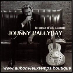 COFFRET 3 VINYL MAXI 45T  JOHNNY HALLYDAY  - LE COEUR D'UN HOMME - WARNER 2007   13 TITRES