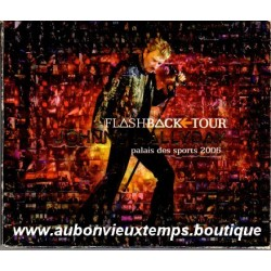 CD x 2  COFFRET LUXE  JOHNNY HALLYDAY  FLASHBACK TOUR  2006  16 + 12 TITRES