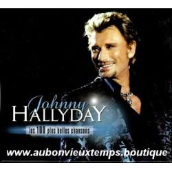 CD x 5  JOHNNY HALLYDAY  - LES 100 PLUS BELLES CHANSONS -  18 + 20 + 20 + 21 + 21 TITRES