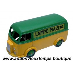 DINKY TOYS 1/43 REF : 25 B PEUGEOT D 3 A LAMPE MAZDA